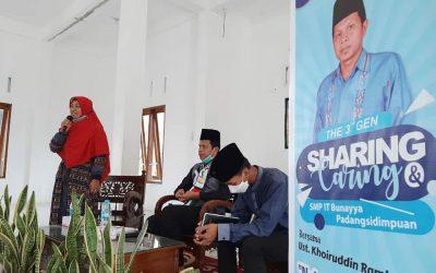 Sharing & Caring Kelas IX SMPIT Bunaya Padangsidimpuan